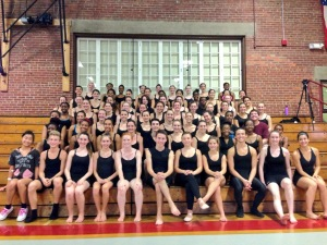 All of our Young Dancers on their last day!