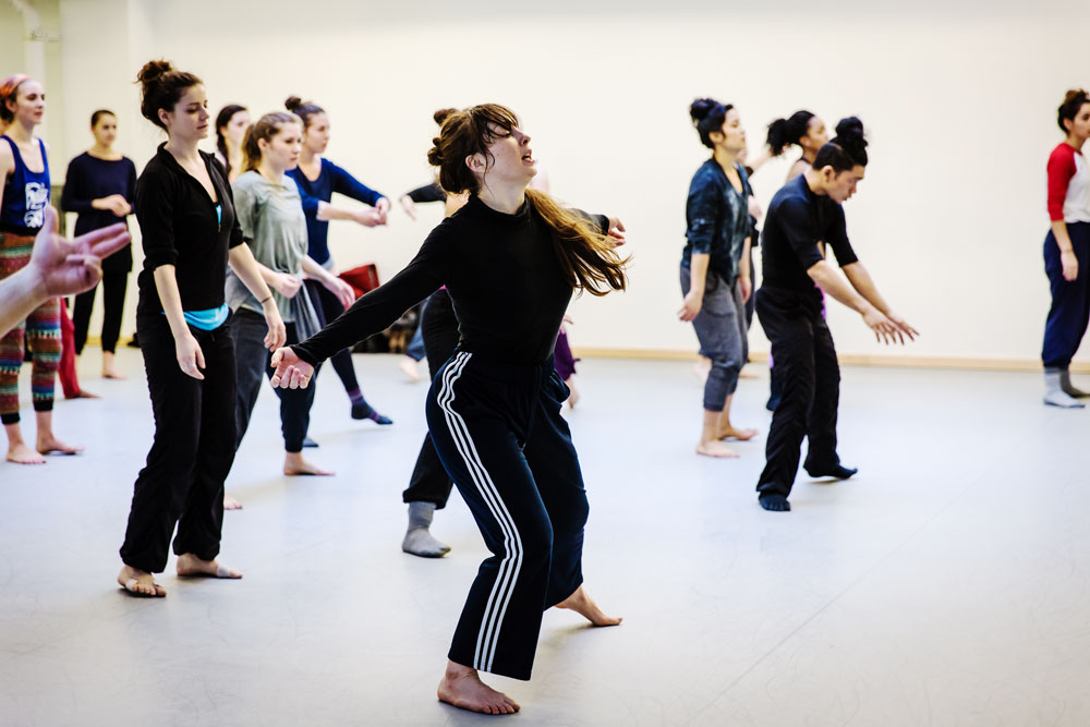 Kendra Portier teaching BDF 2015 Intensive